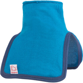 Woolpower 200 Mock Turtleneck Barn dolphin blue